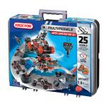 Meccano - Erector Super Construction Set, 25 Motorized Model Building Kit