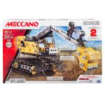 2-in-1 Model Set, Excavator and Bulldozer