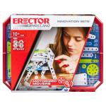 Erector by Meccano, Motorized Movers S.T.E.A.M. Building Kit with Animatronics, for Ages 10 and Up