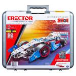 Erector by Meccano, 27-in-1 Championship Race Car, S.T.E.A.M. Building Kit, for Ages 10 and Up