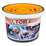 Erector by Meccano Discovery, 150-Piece Bucket STEAM Model Building Kit for Open-Ended Play, for Kids Aged 5 and Up