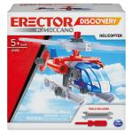 Erector by Meccano Discovery, Helicopter STEAM Model Building Kit, for Kids Aged 5 and Up