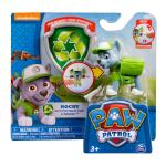 Paw Patrol Action Pack Pup & Badge, Rocky Details