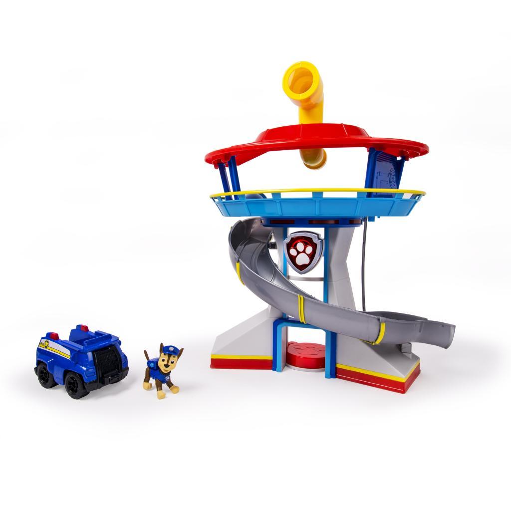 Look-out Playset with Vehicle and Figure