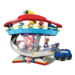 Look-out Playset with Vehicle and Figure Details