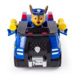 PAW Patrol, Chase's Transforming Police Cruiser with Flip-open Megaphone, for Ages 3 and Up Details