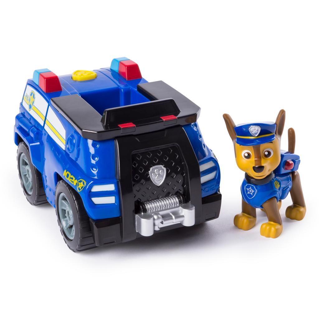 PAW Patrol, Marshall's Transforming Fire Truck with Pop-out Water Cannons, for Ages 3 and Up