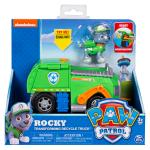 PAW Patrol, Rocky's Transforming Recycle Truck with Pop-out Tools and Moving Forklift, for Ages 3 and Up Details