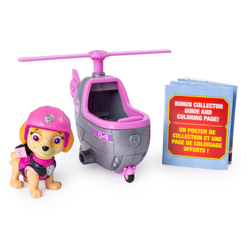 PAW Patrol Ultimate Rescue, Skye's Mini Helicopter with Collectible Figure, for Ages 3 and Up