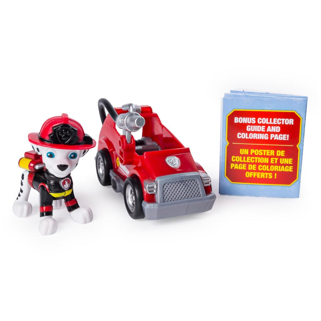 PAW Patrol Ultimate Rescue, Marshall's Mini Fire Cart with Collectible Figure, for Ages 3 and Up