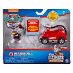 PAW Patrol Ultimate Rescue, Marshall's Mini Fire Cart with Collectible Figure, for Ages 3 and Up Details