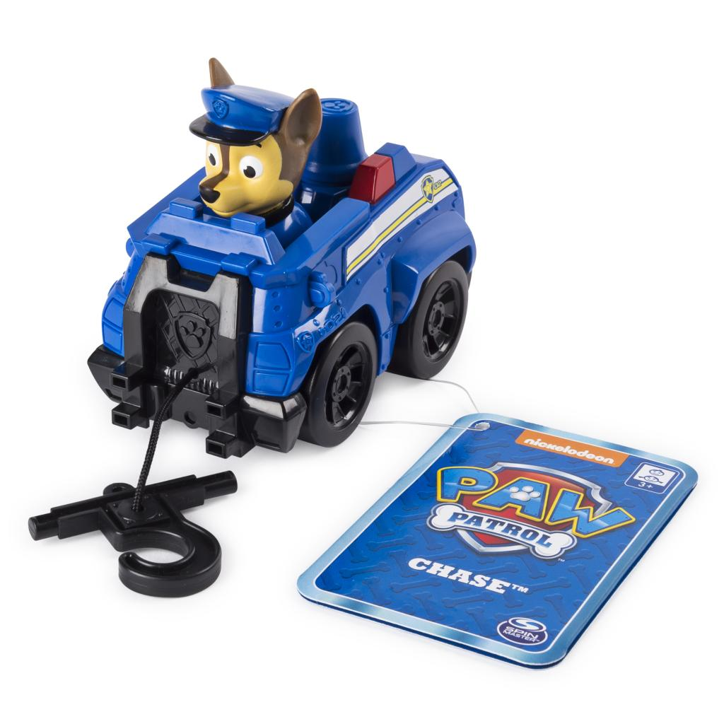 PAW Patrol - Chase's Rescue Racer with Extendable Hook, for Ages 3 and Up