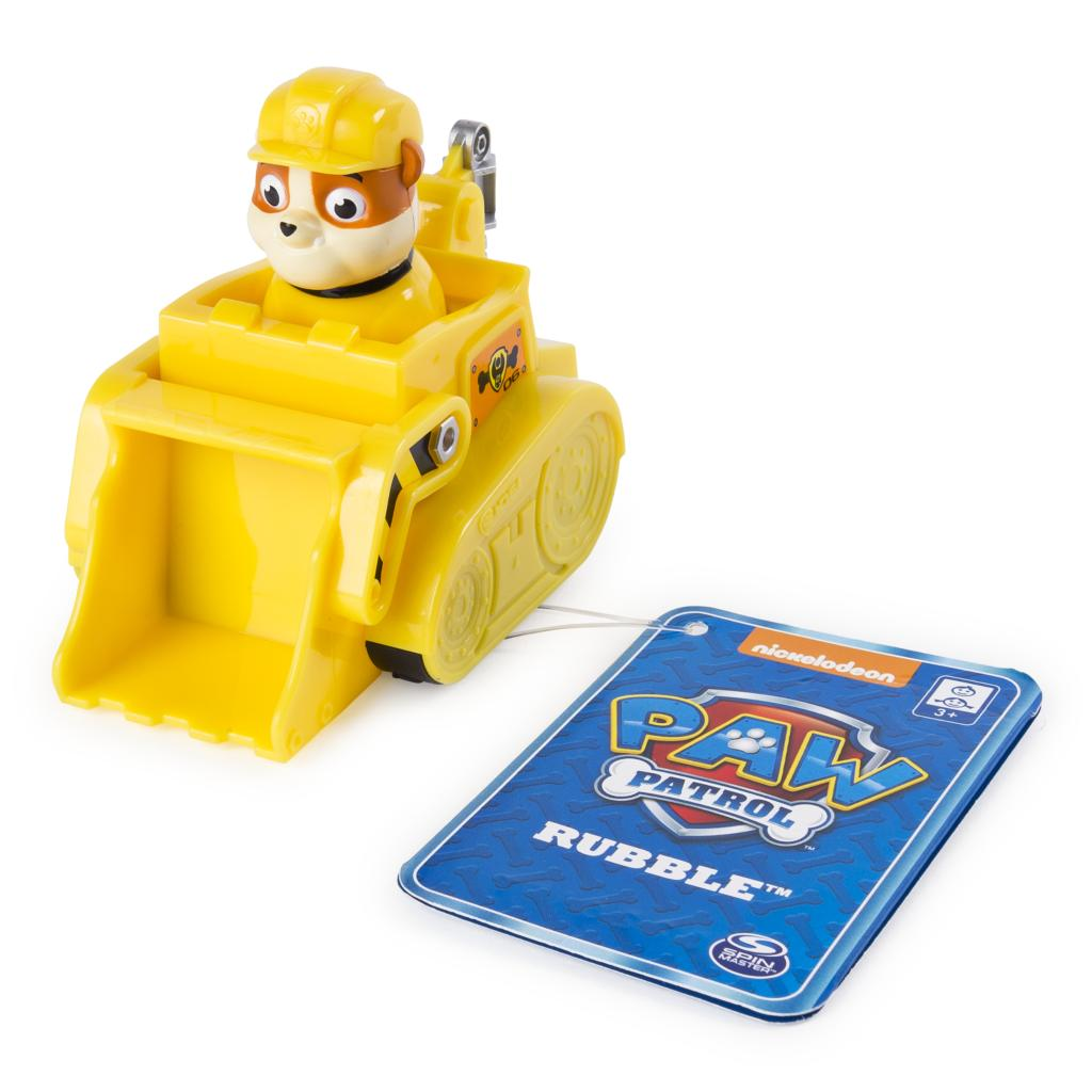 PAW Patrol - Rubble's Rescue Racer with Lifting Scoop, for Ages 3 and Up