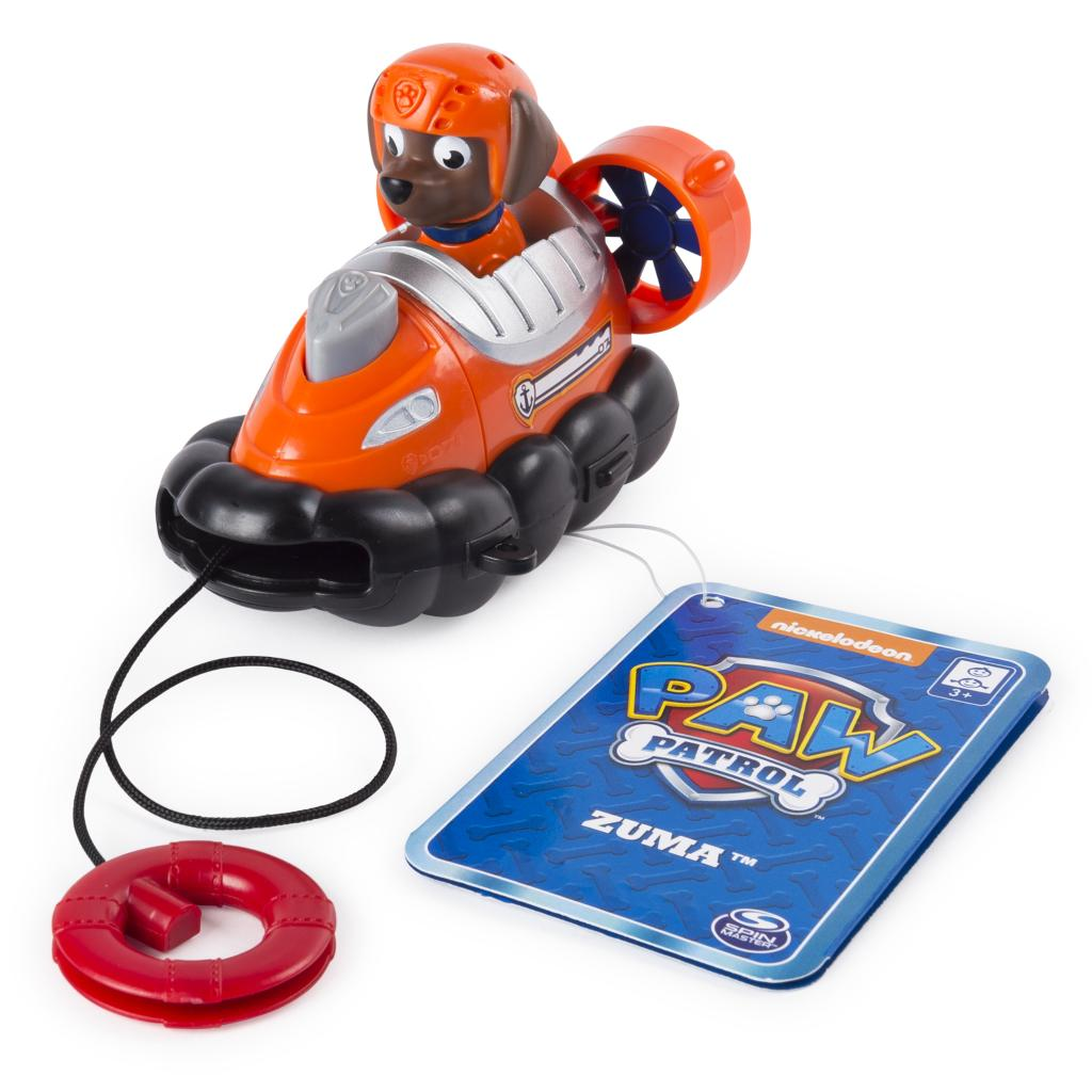 PAW Patrol - Zuma's Rescue Racer with Life Ring Launcher, for Ages 3 and Up