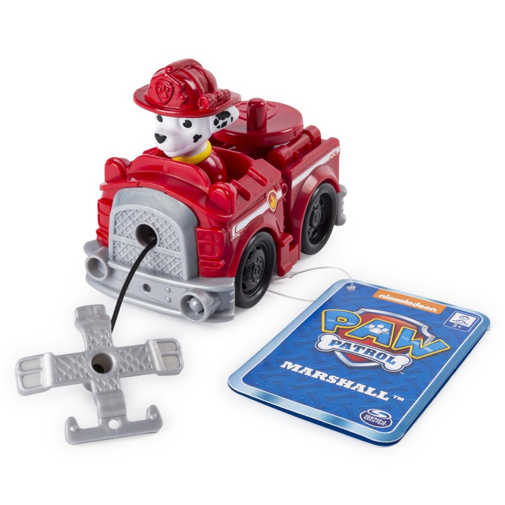 PAW Patrol - Marshall's Rescue Racer with Extendable Hook, for Ages 3 and Up