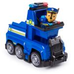 PAW Patrol Ultimate Rescue, Chase's Ultimate Rescue Police Cruiser with Lifting Seat and Fold-out Barricade, for Ages 3 and Up Details