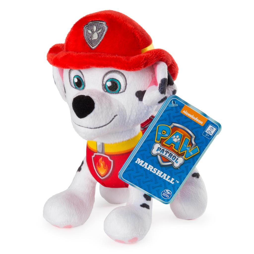 "PAW Patrol – 8"" Marshall Plush Toy, Standing Plush with Stitched Detailing, for Ages 3 and up"