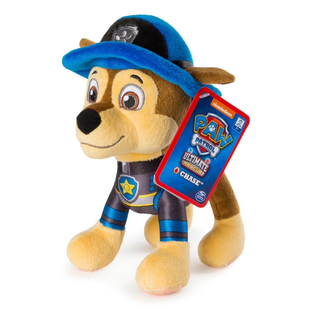 """PAW Patrol – 8"""" Ultimate Rescue Chase Plush, for Ages 3 and up"""