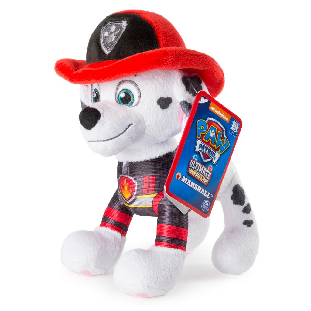 """PAW Patrol – 8"""" Ultimate Rescue Marshall Plush, for Ages 3 and up"""