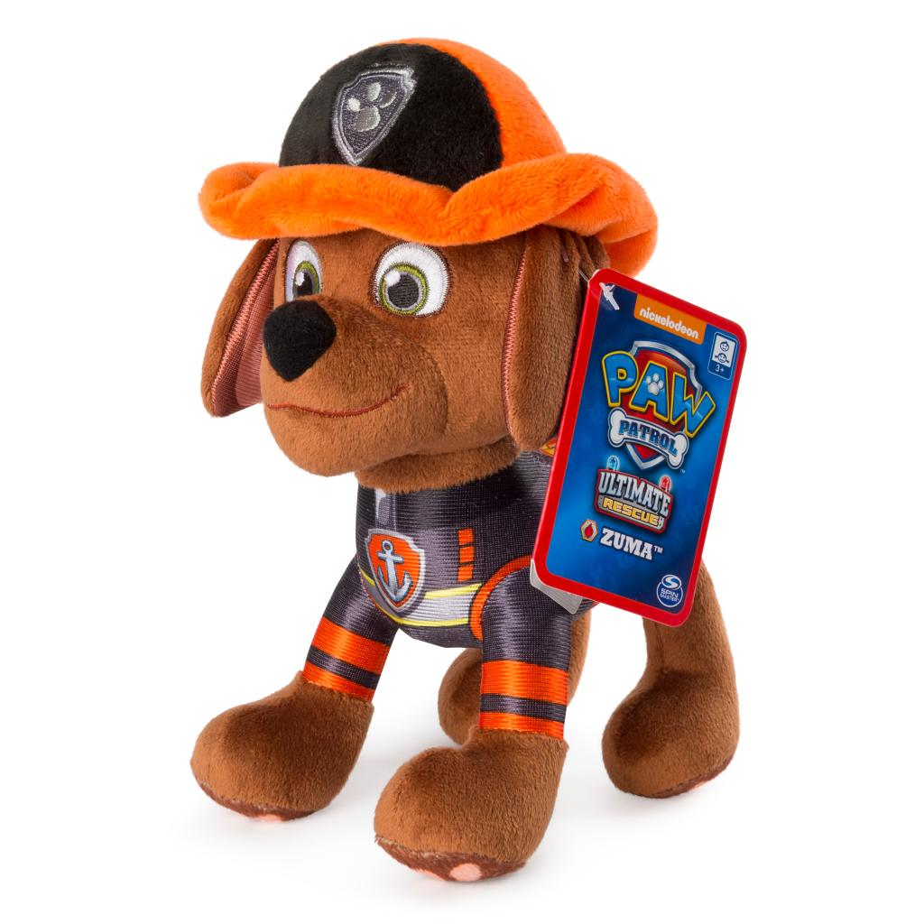 "PAW Patrol – 8"" Ultimate Rescue Zuma Plush, for Ages 3 and up"