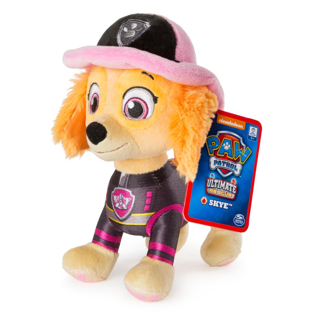 """PAW Patrol – 8"""" Ultimate Rescue Skye Plush, for Ages 3 and up"""