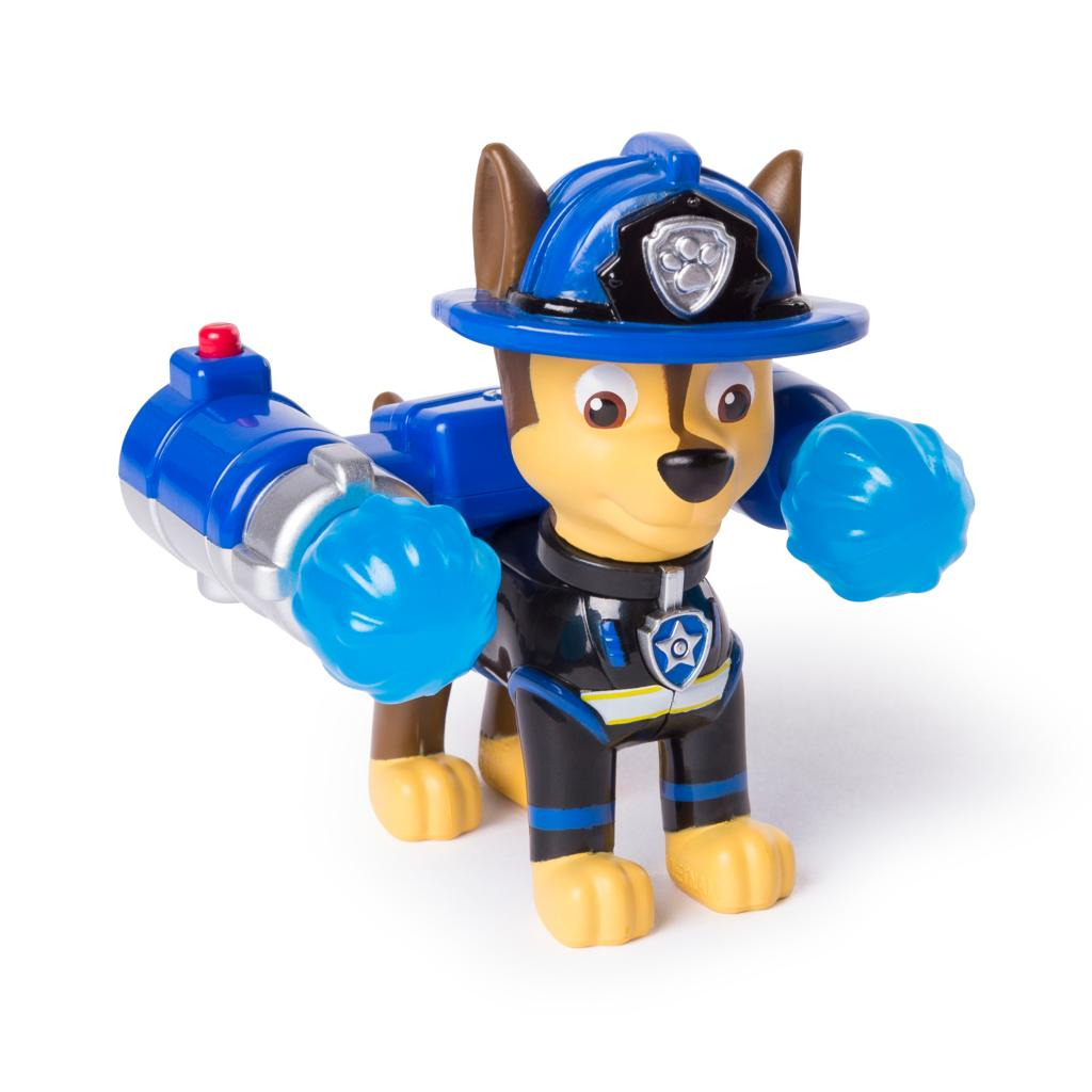PAW Patrol – Ultimate Rescue Chase Figure with Launching Water Cannons, for Ages 3 and Up