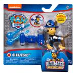 PAW Patrol – Ultimate Rescue Chase Figure with Launching Water Cannons, for Ages 3 and Up Details
