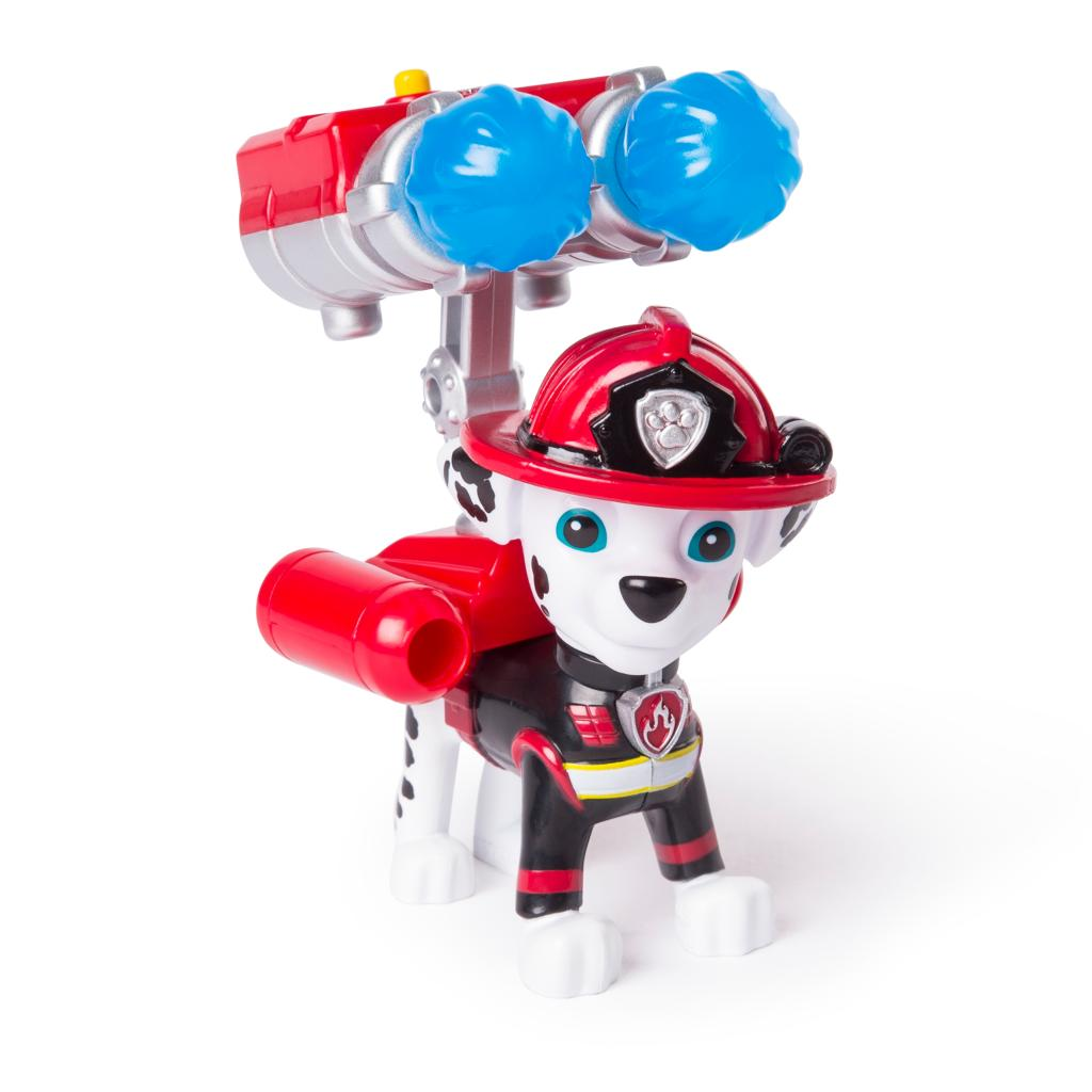 PAW Patrol - Ultimate Rescue Marshall Figure with Launching Water Cannons, for Ages 3 and Up