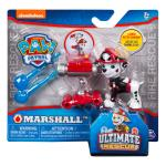PAW Patrol - Ultimate Rescue Marshall Figure with Launching Water Cannons, for Ages 3 and Up Details