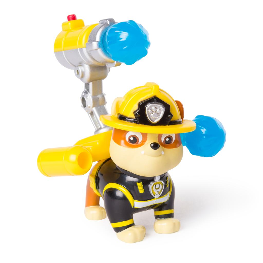 PAW Patrol - Ultimate Rescue Rubble Figure with Launching Water Cannons, for Ages 3 and Up