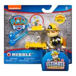 PAW Patrol - Ultimate Rescue Rubble Figure with Launching Water Cannons, for Ages 3 and Up Details