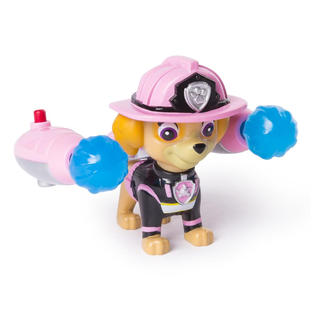 PAW Patrol – Ultimate Rescue Skye Figure with Launching Water Cannons, for Ages 3 and Up