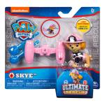 PAW Patrol – Ultimate Rescue Skye Figure with Launching Water Cannons, for Ages 3 and Up Details