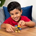 PAW Patrol, Ultimate Rescue Construction Chase Figure with Flip Open Backpack, for Ages 3 and Up Details