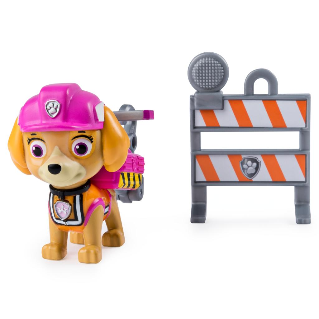 PAW Patrol, Ultimate Rescue Construction Skye Figure with Flip Up Backpack, for Ages 3 and Up