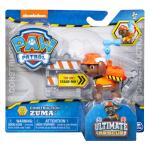 PAW Patrol, Ultimate Rescue Construction Zuma Figure with Flip Up Backpack, for Ages 3 and Up Details