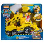 PAW Patrol, Ultimate Rescue Construction Truck with Lights, Sound and Mini Vehicle, for Ages 3 and Up Details