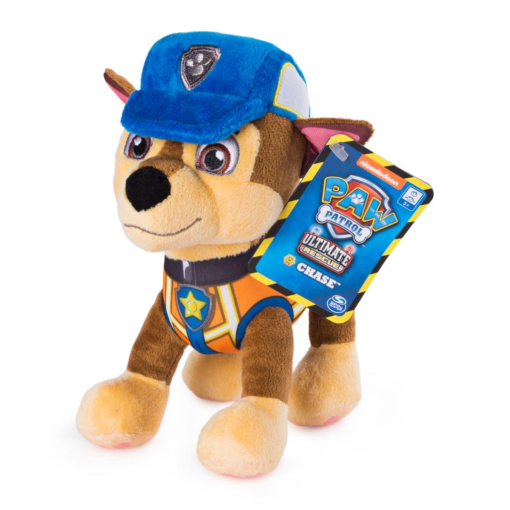 PAW Patrol, 8 Inch Ultimate Rescue Construction Chase Plush, for Ages 3 and up