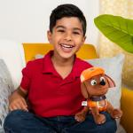 PAW Patrol, 8 Inch Ultimate Rescue Construction Zuma Plush, for Ages 3 and up Details