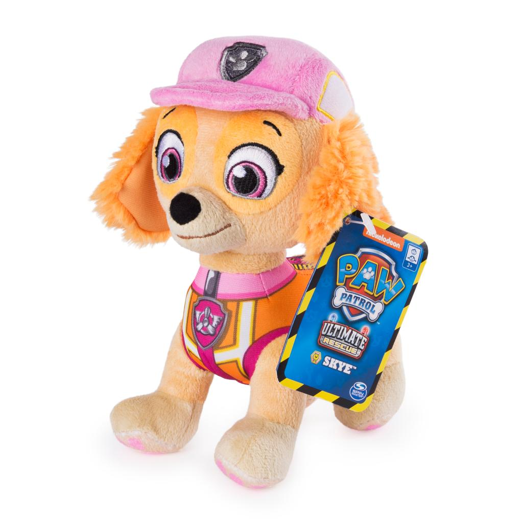 PAW Patrol, 8 Inch Ultimate Rescue Construction Skye Plush, for Ages 3 and up