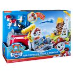 PAW Patrol, Marshall's Ride 'n' Rescue, Transforming 2-in-1 Playset and Fire Truck, for Kids Aged 3 and Up Details