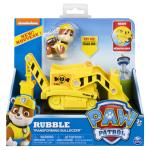 PAW Patrol, Rubble's Transforming Bulldozer with Pop-out Tools, for Ages 3 and Up Details