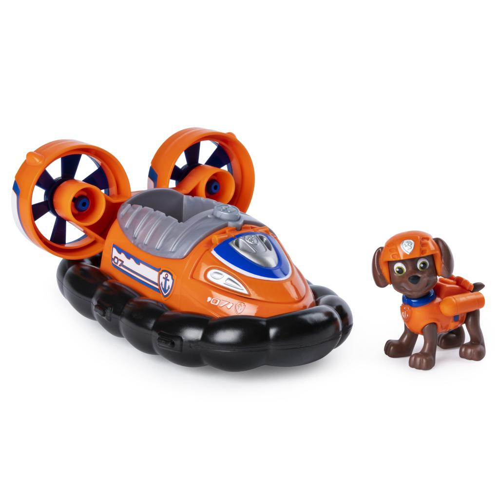 PAW Patrol, Zuma's Transforming Hovercraft with Flip-open Hook, for Ages 3 and Up