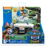 Paw Patrol, Jungle Rescue, Tracker's Jungle Cruiser, Vehicle and Figure Details