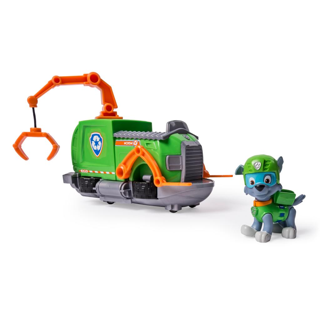 Paw Patrol - Rocky's Tugboat - Vehicle and Figure