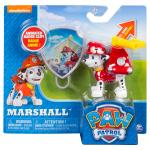PAW Patrol - Action Pack Marshall with Extendable Hook and Collectible Pup Badge Details