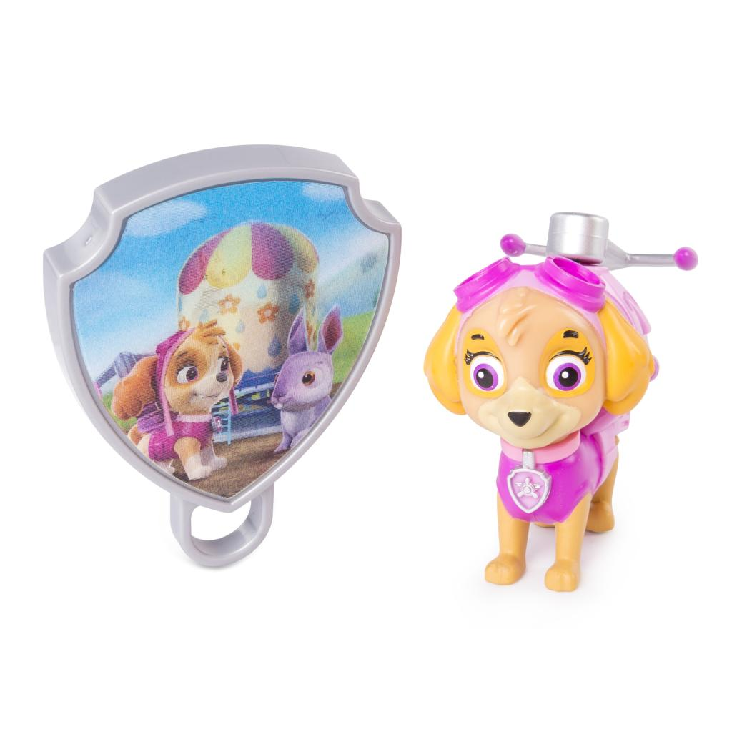 PAW Patrol - Action Pack Skye with Extendable Hook and Collectible Pup Badge