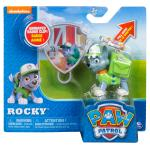PAW Patrol - Action Pack Rocky with Extendable Hook and Collectible Pup Badge Details
