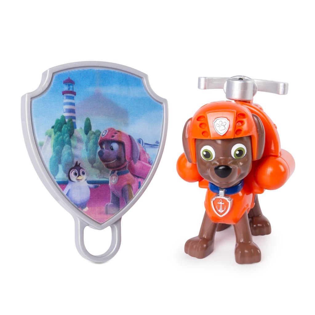 PAW Patrol - Action Pack Zuma with Extendable Hook and Collectible Pup Badge