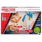 Erector by Meccano, Geared Machines S.T.E.A.M. Building Kit with Moving Parts, for Ages 10 and Up